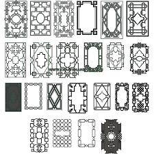 Ornamental Designs Photo Book Collection Of Interlaced Ornaments From Old Book Covers