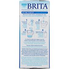 How To Filter Water At Home Brita Water Filter Pitcher Advanced Replacement Filters 4 Count