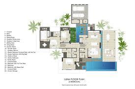 home villa designs and floor