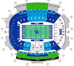 University Of Kentucky Stadium Seating Chart Always Up To Date University Of Toledo Stadium Seating Chart