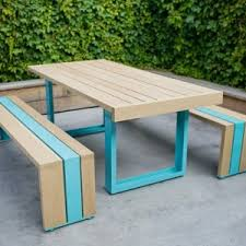 outdoor furniture white. Simple Outdoor Furniture Made Of White Oak