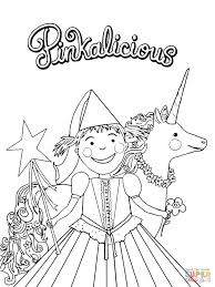 Small Picture Pinkalicious Coloring Pages Free esonme
