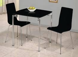 black table and chairs set excellent stylish chair alluring dining table 2 chairs small and chair black table and chairs set dining