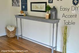 Easy Diy Sofa Table Easy Diy Sofa Table Z Nongzico