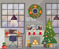 the office christmas ornaments. merry christmas and happy new year office. wreath over the fireplace with office ornaments r