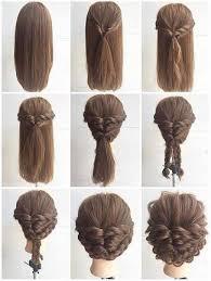 Pin Uživatele Veronika Vé Na Nástěnce That Hair Flettet Hår