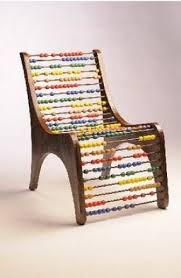 Unusual shaped chairs