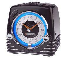 Thunderbird Neon Clock-Radio-CD Player Combo