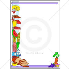 christmas menu borders christmas kitchen border clipart collection