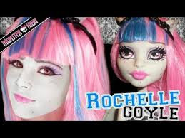 roce goyle monster high doll costume makeup tutorial for cosplay or