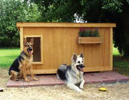 Dog Houses and Dog House Plans   Animals LibraryDog Houses and Dog House Plans
