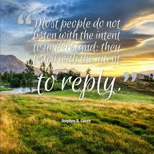 Listening Quotes Magnificent Stephen Covey Quote About Listening Awesome Quotes About Life