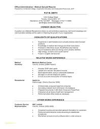 Medical Resume Templates Or Medical Fice Assistant Resume Examples