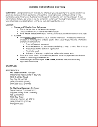 References Section Of Resume Writing Upon Request Capable But