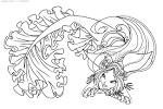 Раскраски винкс русалочки распечатать