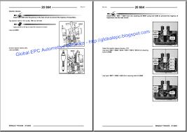 renault premium workshop service manuals and wiring diagrams renault truck fault codes pdf at Renault Midlum Wiring Diagram