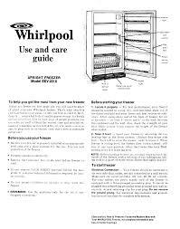 whirlpool zer eev 201 x user guide manualsonline com whirlpool