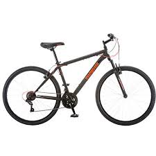 mongoose 21 sd steel frame front suspension mountain bike for men 27 5 inch