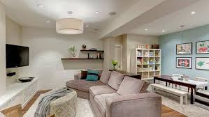 Basement Living Rooms Design