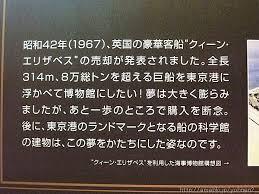 「東京都品川区に船の科学館が開館。」の画像検索結果