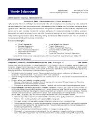 Certified Professional Resume Writer Resume Templates