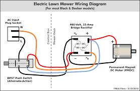nick viera electric lawn mower wiring information diy disc