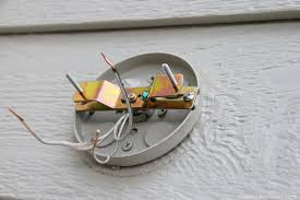 next grab the ground wire from the fixture and wrap it around the ground bolt mine s green on your mount the bolt down tightly to hold the wire on
