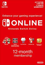 Nintendo Switch Online 12 months - Game ...