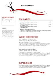 Hairstylist Job Description Gorgeous Hair Stylist Resume Templates Pinterest Sample Resume