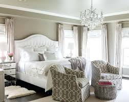 Gray Black And White Master Bedroom Rich Bedroom With Dark Flooring ...