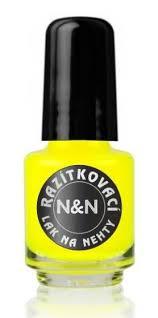 Razítkovací Lak Neon žlutý 5ml