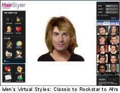 many virtual hairstyles for men