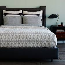 Modern Duvet Covers + Quilts & Loire Ink Quilt Adamdwight.com