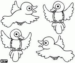 Kleurplaten Vogels Kleurplaat