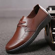 product images gallery sxing 2018 men s classic lace up leather formal shoes men genuine