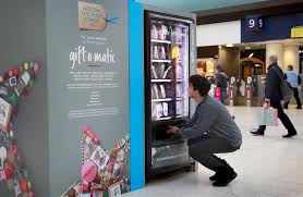 Twitter Powered Vending Machine Best Selection Of Best Christmas Vending Machines Vending Paris