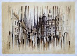 architectural drawings. Unique Architectural Ink And Coffee Architectural Drawings By Pavel Filgas To