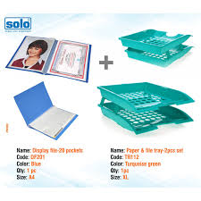 Solo Stationery International Office Accessories Stationery