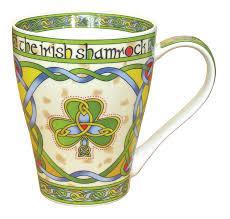 Small Picture Amazoncom Irish Shamrock China Mug an Irish gift designed in