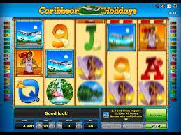 Caribbean holidays игровой автомат