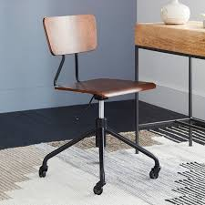 industrial style office chair. Adjustable Industrial Office Chair | West Elm Style D