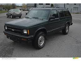 1994 Forest Green Metallic Chevrolet S10 Blazer 4x4 #55757051 ...