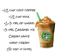 1 1/2 tablespoons of sugar. Diy Starbucks Caramel Frappucino Starbucks Drinks Recipes Starbucks Recipes Starbucks Caramel