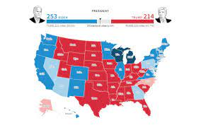 Local, state and national election results