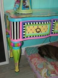funky baby furniture. funkyhandpaintedfurniture love this table by eles funky baby furniture