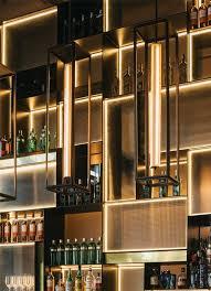 wet bar lighting. restaurantes terre alicante tarruella trenchs studio wet bar lighting