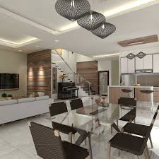 Living Kitchen Interior Design Commercial