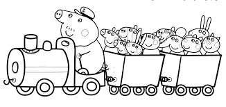 Peppa Pig Coloring Pages Friends Peppa Pig Friends Coloring Pages