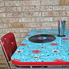 Mod Podge Kitchen Table How To Refinish A Dining Table With Fabric Mod Podge And Resin