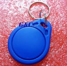<b>10PCS</b> RFID <b>IC</b> Key Tags Keyfobs Token NFC TAG Keychain <b>13.56</b> ...